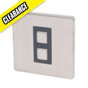 1-Gang Slave Dimmer Stainless Steel 250W