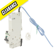 Crabtree 10A 30mA SP Type C Curve RCBO