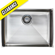 Astracast Inset/Undermount Sink Brushed Stainless Steel 1 Bowl 570 x 430mm