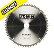 Erbauer Circular Saw Blade 80-Tooth 250mm