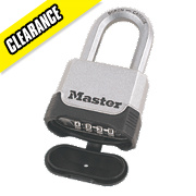 Master Lock Excell Combination Padlock 50mm