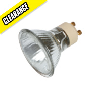 Sylvania Hi-Spot Superia Mains Voltage Halogen Lamp GU10 300Lm 50W Pk5