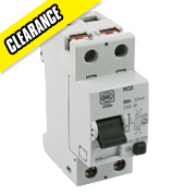 MK Sentry 80A 30mA DP Split Load RCD