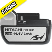 Hitachi BSL1430 14.4V 3.0Ah Li-Ion Slide Battery