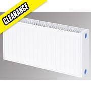 Flomasta Type 21 Double Panel Single Convector Radiator White 300 x 600mm