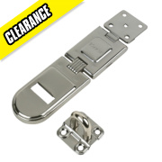Master Lock Hasp & Staple for Angles 200mm