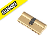Century 5-Pin Euro Double Cylinder Lock 35-35 (70mm) Brass
