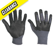Apache Industrial Wear Madgrip Madgrip Tradesman Gloves Grey Large