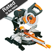 Evolution RAGE 3DB 255mm Double Bevel Sliding Mitre Saw 230V
