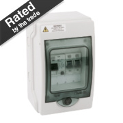 MK Sentry 4-Way RCD Garage Consumer Unit