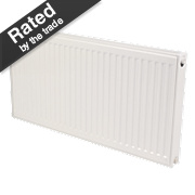Kudox Premium Type 21 Double Panel Plus Convector Radiator White 600x1100mm