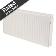 Kudox Double Convector Radiator White H: 600 x W: 2000mm