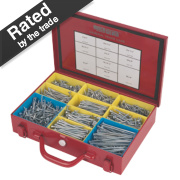 Quicksilver General Trade Case Zinc-Plated for Corrosion Resistance 1400Pc