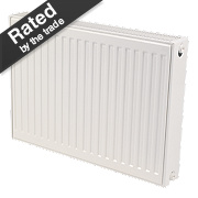 Kudox Premium Type 22 Double Panel Double Convector Radiator White 600x800