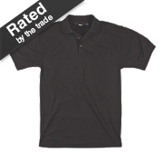 "Site Pepper Polo Shirt Black Medium 40-41"" Chest"