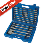 SDS Plus Drill Bit Combi Set 17Pc