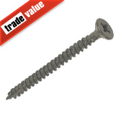 TurboGold XT Double Flat Head XT Screws 5 x 60mm Pack of 100