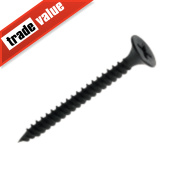 Easydrive Black Phosphate Bugle Twin Thread Drywall Screws 4.2 x 65mm Pk500