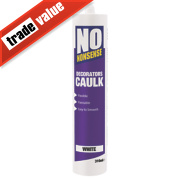 No Nonsense Decorators' Caulk White 310ml