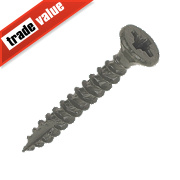 TurboGold XT XT Screws Double Flat Head 4 x 30mm Pack of 200