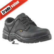 Site Coal Safety Shoes Black Size 9
