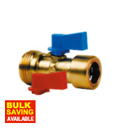 Conex Cuprofit Washing Machine Valve 15mm x ¾