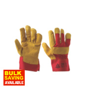 Keep Safe Ultimate Rigger Gloves Red / Yellow Large
