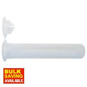 Rawlplug Resin Plastic Sleeves M12 x 85mm Pack of 10