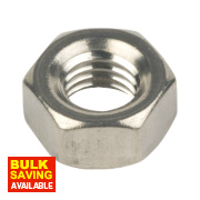 Hex Nuts A2 Stainless Steel M8 100 Pack