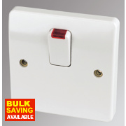 MK 20A DP Switch with Neon White