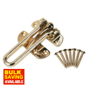 Door Guard Brass Plated