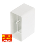 Manrose Rectangular Flat Channel White 100mm