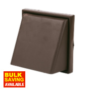 Manrose Cowl Vent Brown 140 x 140mm