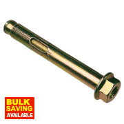 Sleeve Anchor 10 x 75mm M8 Max Fixture 39 Pack of 10