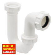 Tubular Swivel P Trap 32mm