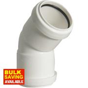 Obtuse Bend 40mm 135° (45°)