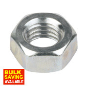 Easyfix Hex Nuts BZP Steel M8 1000 Pack