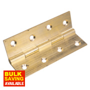 Butt Hinge Self-Colour 38 x 22mm Pack of 20