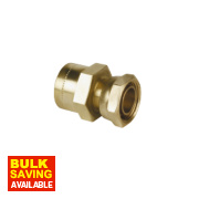 Conex Cuprofit Straight Tap Connector 15mm x ½