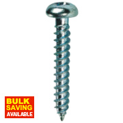 Quicksilver Twin Thread Roundhead Prodrive Recess Woodscrews 8 x 1¼