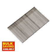 Finish Brad Nails Galvanised 16ga 64mm Pack of 2500