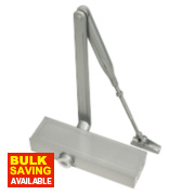 Briton 1110 Overhead Door Closer Silver