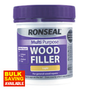 Ronseal Multipurpose Wood Filler Light 250g