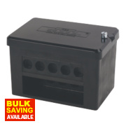 2 x 5-Way DP 100A Service Connector Block 35mm²