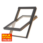 Tyrem Centre-Pivot Roof Window Clear 780 x 980mm