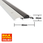 Stormguard Compression Draught Excluder Aluminium 1828mm