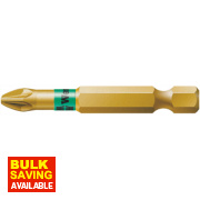 Wera Bi-Torsion Extra Hard Gold Pozi #2 50mm