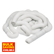 PVC Flexible Ducting Hose White 45m x 100mm
