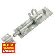Heavy Brenton Bolt Galvanised 210mm