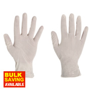 Polyco Finity Latex-Free Powder-Free Disposable Gloves Natural Large Pk100